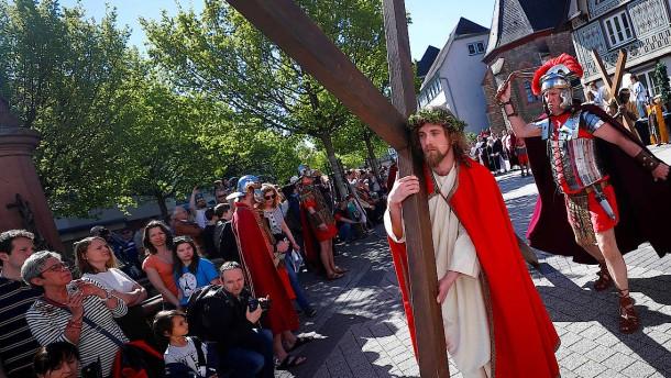Jesus in Bensheim