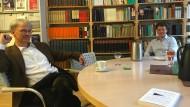 Der Philosophie-Professor Harald Schwaetzer und die Ingenieurin und Ökonomin Silja Graup haben eine Ökonomie-Hochschule gegründet.