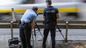 """Polizei geht mit """"Speedmarathon"""" gegen Raser vor"""