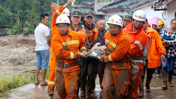 Opferzahlen in Sichuan steigen
