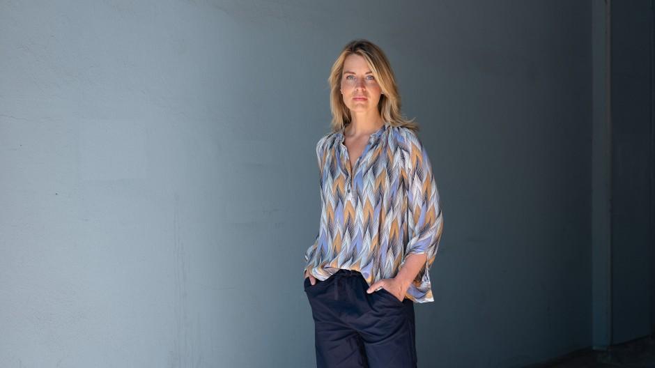 Sportjournalistin Jessy Wellmer moderiert bei der EM
