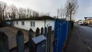 Flüchtlingsheim in ehemaligem KZ-Außenlager