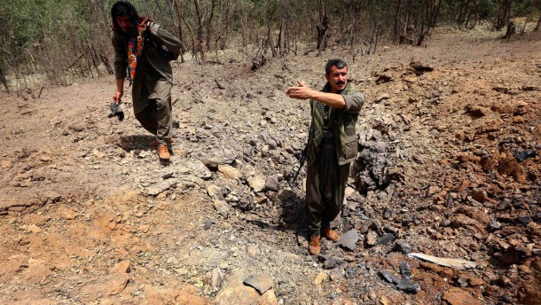 Kurden-Präsident ruft PKK zum Verlassen des Iraks auf