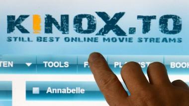 Die Plattform kinox.to steht unter Raubkopien-Verdacht