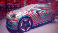 Im Mai wurde dieser Volkswagen ID 3 in Berlin präsentiert. Noch dieses Jahr will VW seine digitalen Kompetenzen bündeln, um Google und Co. anzugreifen.