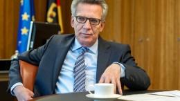 De Maizière: AfD-Wähler haben nicht durchweg rechte Positionen