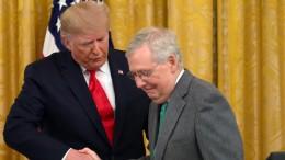 McConnell gibt Trump öffentlich Mitschuld an Sturm auf Kapitol