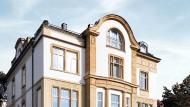 Das Wertpapierzentrum an der Juliusstraße in Wiesbaden eröffnet demnächst.
