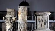 Bei Jupiter: Die römischen Säulen stammen aus dem Jahr 60 nach Christus.