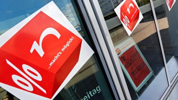 Neckermann-Pleite belastet Arbeitsmarkt