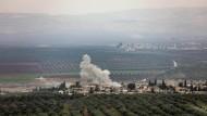 Umkämpfte Region: Im nordsyrischen Afrin sollen sechs Menschen bei einem Giftgaseinsatz verletzt worden sein.