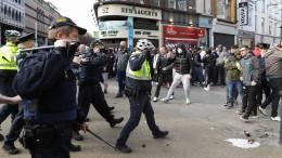 Ausschreitungen in Dublin bei Demonstration gegen Lockdown