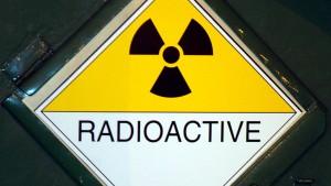 Diebe machen radioaktive Beute
