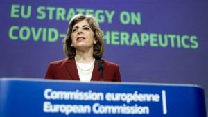 EU setzt auf Medikamente gegen Corona