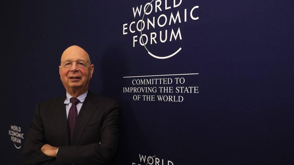 Klaus Schwab, Gründer des Weltwirtschaftsforums (WEF)