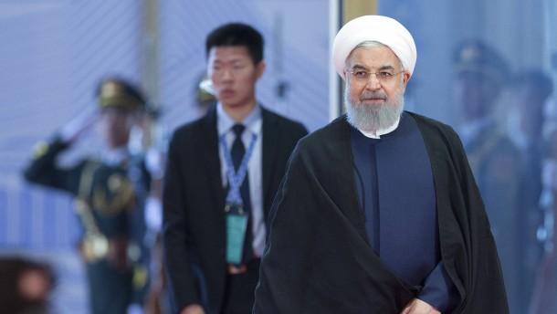 Iran kann sich auf China und Russland verlassen