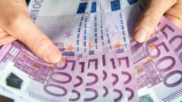 Behörden beschlagnahmen 50 Millionen Euro