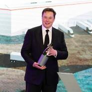 Zu feiern, wie hier in Schanghai im Januar 2020, hat Tesla-Chef Elon Musk aktuell wohl weniger.