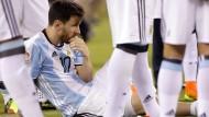 Ins Grübeln geraten: Lionel Messi will offenbar wieder für Argentinien spielen