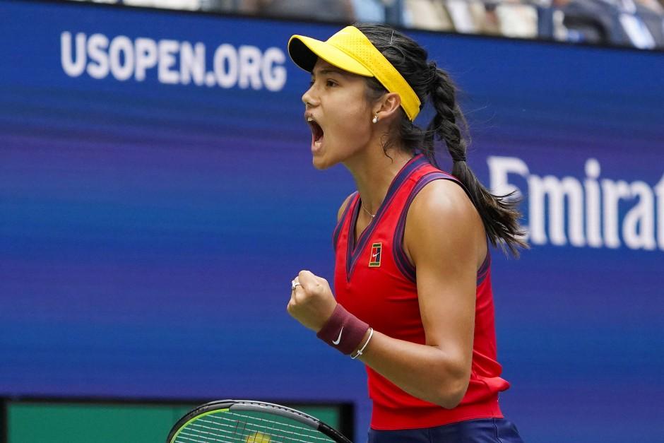 Gesagt, getan, gesiegt: Die Britin Emma Raducanu gewinnt die US Open.