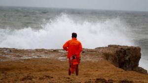 """Sturm """"Leslie"""" erreicht Portugal"""