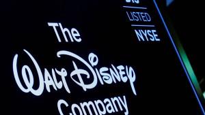 Disney-Aktie stürzt ab
