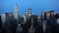 Die Skyline von New York - das wichtigste Finanzzentrum Amerikas.