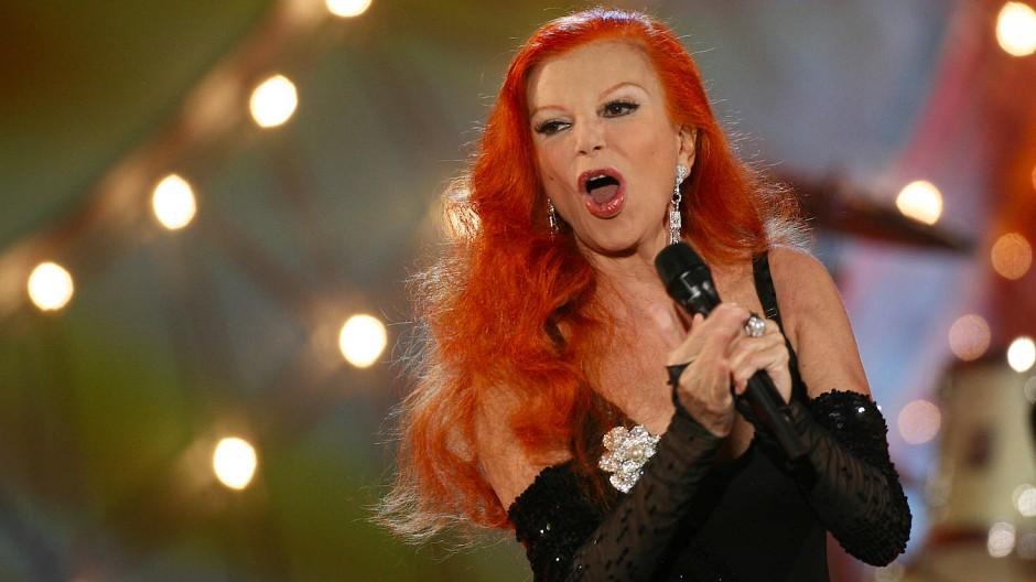 Die italienische Sängerin Milva 2008 in Berlin