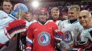 Nachnutzer: Der russische Präsident Putin im Mai in Sotschis Eishockeystadion