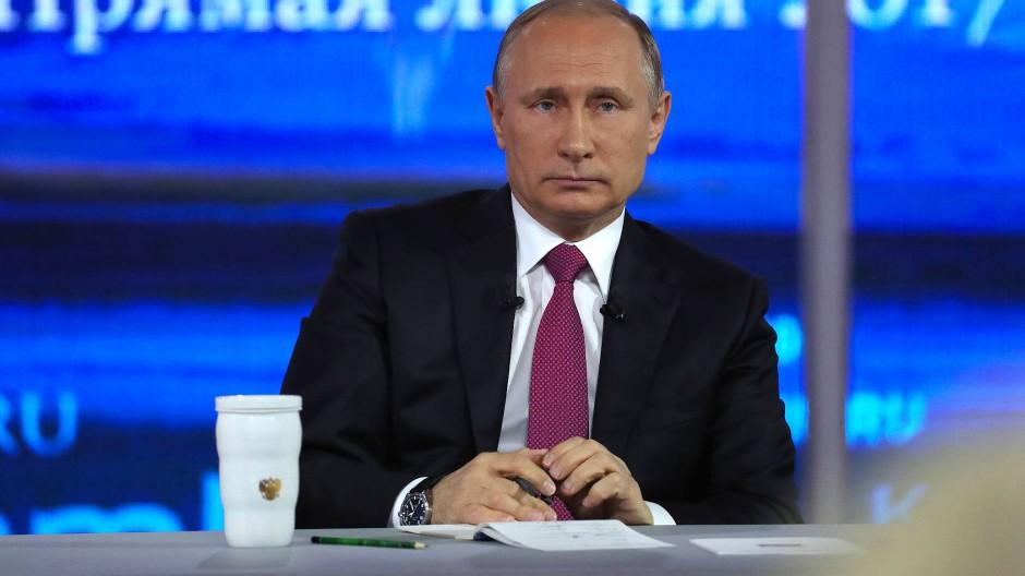 """Putin versprühte Optimismus: """"Alles wird gut"""""""