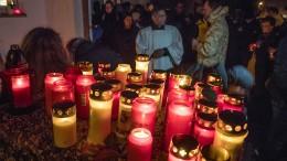 Zwischenrufer stört Gottesdienst für getötete 21-Jährige