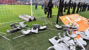 Stadionverbot schlägt Strafrecht