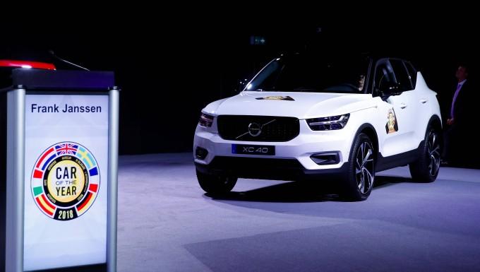 Volvo Xc40 Ist Auto Des Jahres