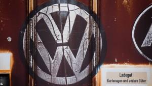 VW will sich mit Zulieferern einigen