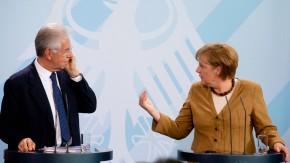 Treffen Merkel und Monti