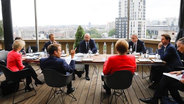 """Verhandlungen in """"angespannter"""" Atmosphäre"""