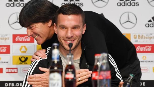 Podolski ist der Kapitän der Herzen