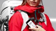 In diesem Rucksack von Mammut steckt ein NFC-Chip.