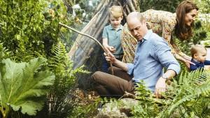 Royaler Besuch im Zurück-zur-Natur-Garten