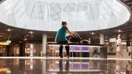 Hochglanz mit viel Glas: Der neue Flugsteig A-Plus in Frankfurt von innen gesehen