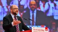 Bringt ein Experiment ins Spiel: der SPD-Parteivorsitzende Martin Schulz
