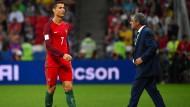 Ronaldo reist zu seinen Zwillingen ab