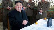 Nordkorea führt Militärübung durch