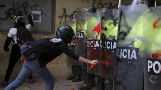 Proteste gegen Polizeigewalt halten an