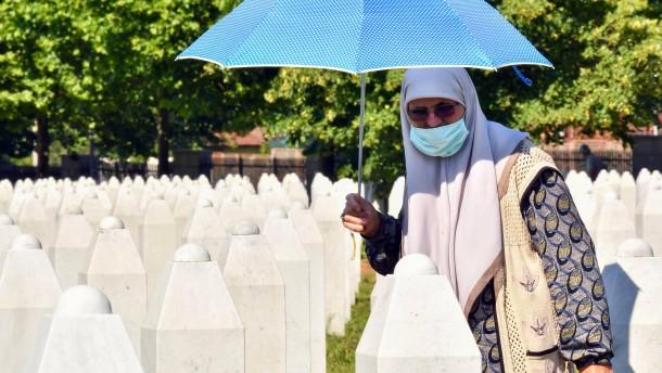 """""""Srebrenica darf sich niemals wiederholen"""""""