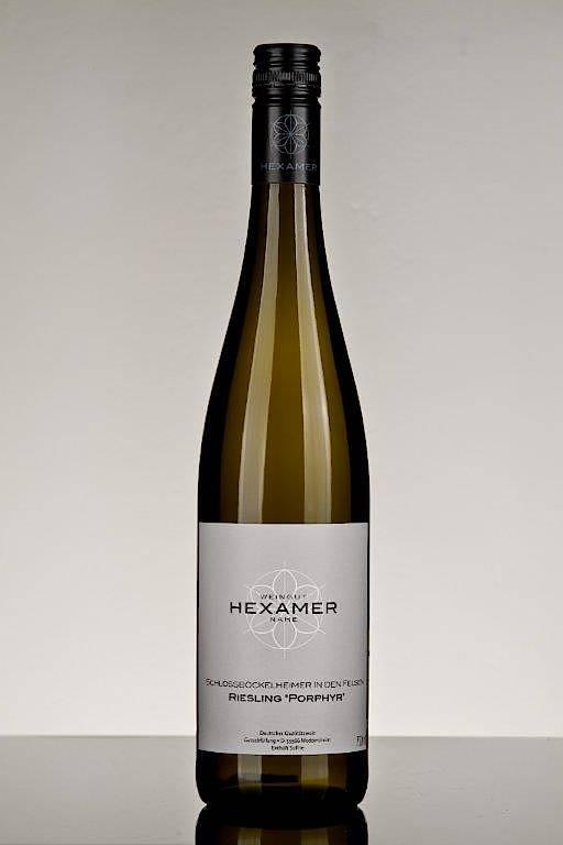 """Preis-Leistung des Jahres: 2015 Riesling feinherb """"Porphyr"""" vom Weingut Hexamer"""