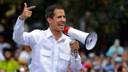 Guaidó ruft zum großen Marsch auf Caracas auf