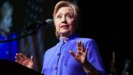 Kann erst einmal aufatmen: Präsidenschaftsbewerberin Hillary Clinton