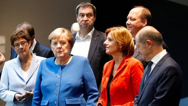 Der Preis der großen Koalition