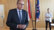Unter Druck: Hessens Innenminister Beuth (CDU)